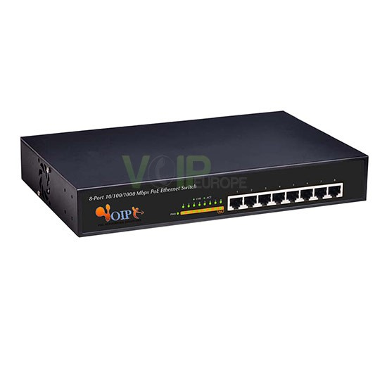 8-port 10/100M/1000M unmanaged 8 Port support PoE Switch in  Metal case(150W power) FR-S1008PEG